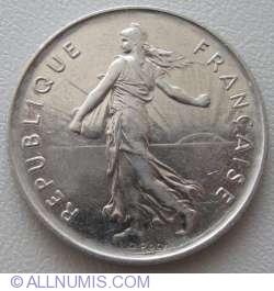 Image #2 of 5 Francs 1987