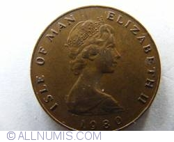 Image #2 of 1 Penny 1980 AC