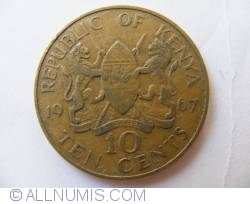 Image #1 of 10 Cents 1967