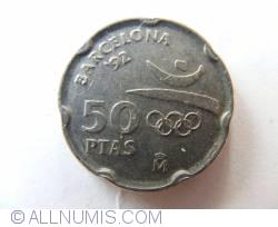 Image #1 of 50 Pesetas 1992 - Olympics - La Pedrera