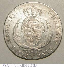 Image #1 of 2/3 Thaler (= 1 Gulden) 1817