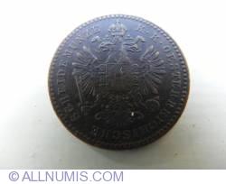 Image #2 of 1 Kreuzer 1858 B
