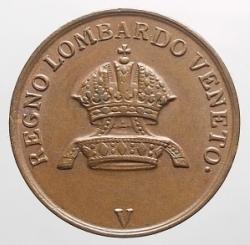 1 Centesimo 1843 V