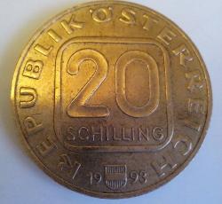 20 Schilling 1993 - Hochosterwitz Castle
