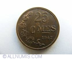 Image #1 of 25 Centimes 1947