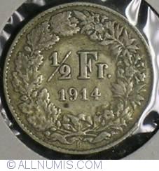 1/2 Franc 1914