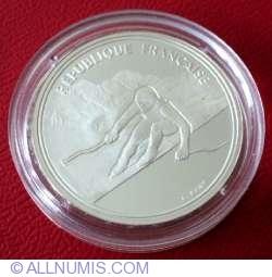 Image #2 of 100 Francs 1989 - Slalom Skiers
