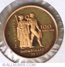 Image #1 of 100 Dollars 1976 - Montreal Olympics
