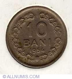 Imaginea #2 a 10 Bani 1954