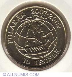 10 Kroner 2008 - International Polar Year