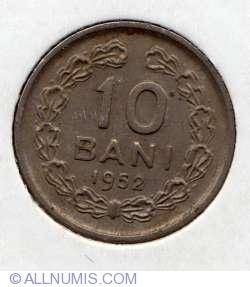 Imaginea #2 a 10 Bani 1952