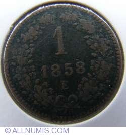Image #1 of 1 Kreuzer 1858 E