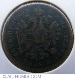 Image #2 of 1 Kreuzer 1858 E