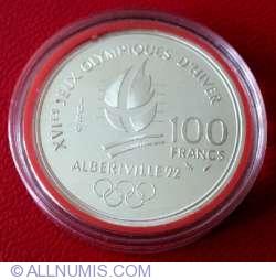 Image #1 of 100 Francs 1989 - Artistic Skating