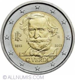 2 Euro 2013 - 200th birth anniversary of Giuseppe Verdi