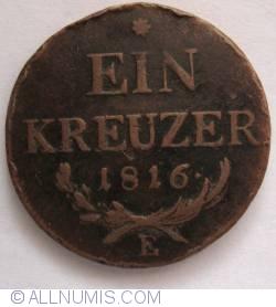Image #1 of 1 Kreuzer 1816 E