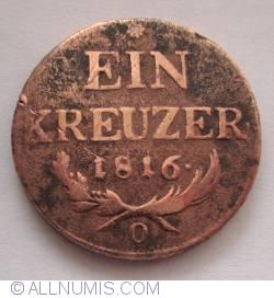 Image #1 of 1 Kreuzer 1816 O