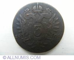 3 Kreuzer 1800 S