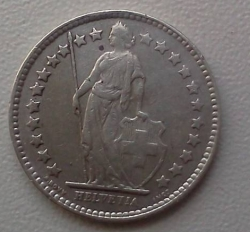 Image #2 of 1/2 Franc 1943