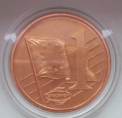 Image #1 of 1 Euro Cent 2003 (Fantasy)