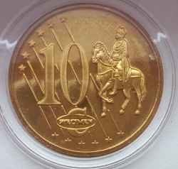 Imaginea #1 a 10 Euro Cent 2003 (Fantezie)