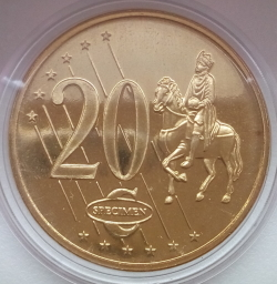 Image #1 of 20 Euro Cent 2003 (Fantasy)