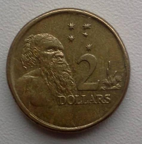 2 Dollars 2008 Elizabeth Ii 1952 Present Australia