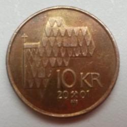 Image #1 of 10 Kroner 2001