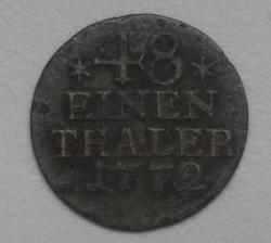 Image #1 of 1/48 Thaler 1772