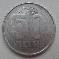 Image #1 of 50 Pfennig 1986 A