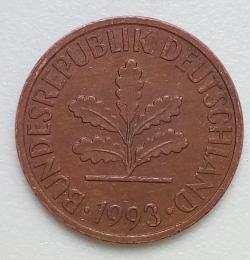 Image #2 of 2 Pfennig 1993 G