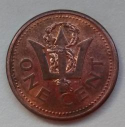 Imaginea #2 a 1 Cent 1991