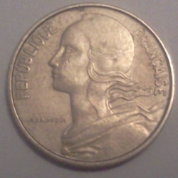 Image #2 of 10 Centimes 1966