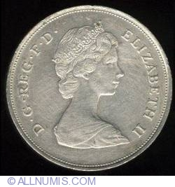 25 New Pence 1981 - Celebration of the wedding between the Prince of Wales and Lady Diana