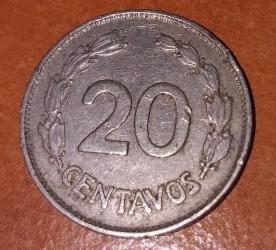 Imaginea #1 a 20 Centavos 1966