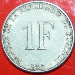 Image #2 of 1 Franc 1980