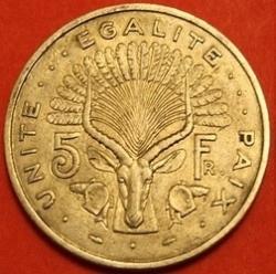 Image #2 of 5 Francs 1977