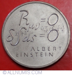 Image #2 of 5 Francs 1979 - Einstein