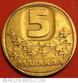 Image #1 of 5 Markkaa 1984