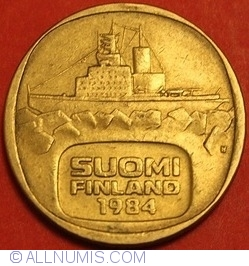 Image #2 of 5 Markkaa 1984