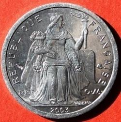 Imaginea #1 a 1 Franc 2003
