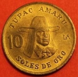 Imaginea #2 a 10 Soles de Oro 1983