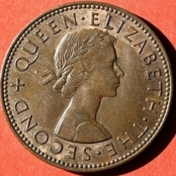 Image #1 of 1/2 Penny 1961
