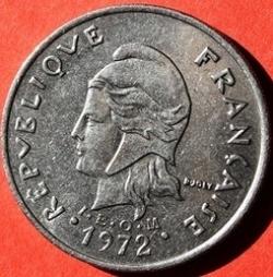 Imaginea #1 a 20 Francs 1972