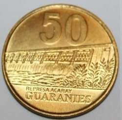 Imaginea #2 a 50 Guaranies 1998