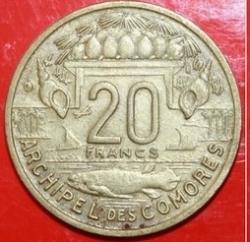 Imaginea #2 a 20 Francs 1964