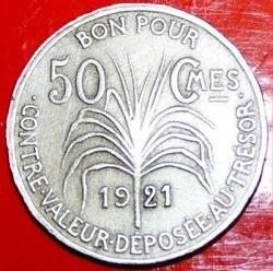 Imaginea #2 a 50 Centimes 1921