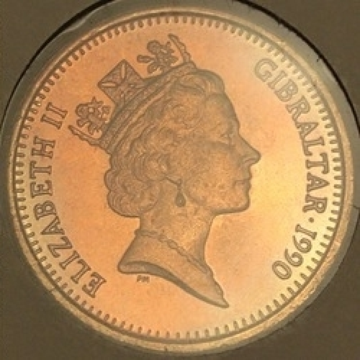1 Penny 1990 AA, British Colony (1989-2000) - Gibraltar - Coin - 40047