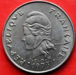 Image #1 of 20 Francs 1973