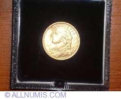 Image #2 of 20 Francs 1897